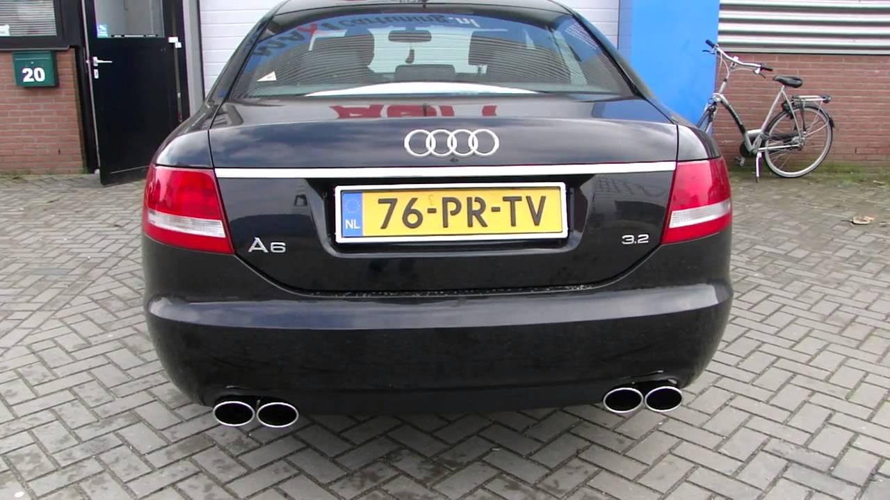 Audi A6 3 2 Sportauspuff Ma 223 Geschneidert Www Auspuffpunkt