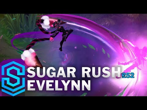 Sugar Rush Evelynn Skin Spotlight - League of Legends