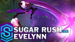 Sugar Rush Evelynn Skin Spotlight - League of Legends