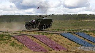 Российские военные вырвали победу у китайцев: кадры конкурса «Десантный взвод»