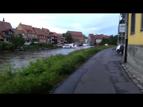 LITTLE VENICE ON FOOT BAMBERG GERMANY