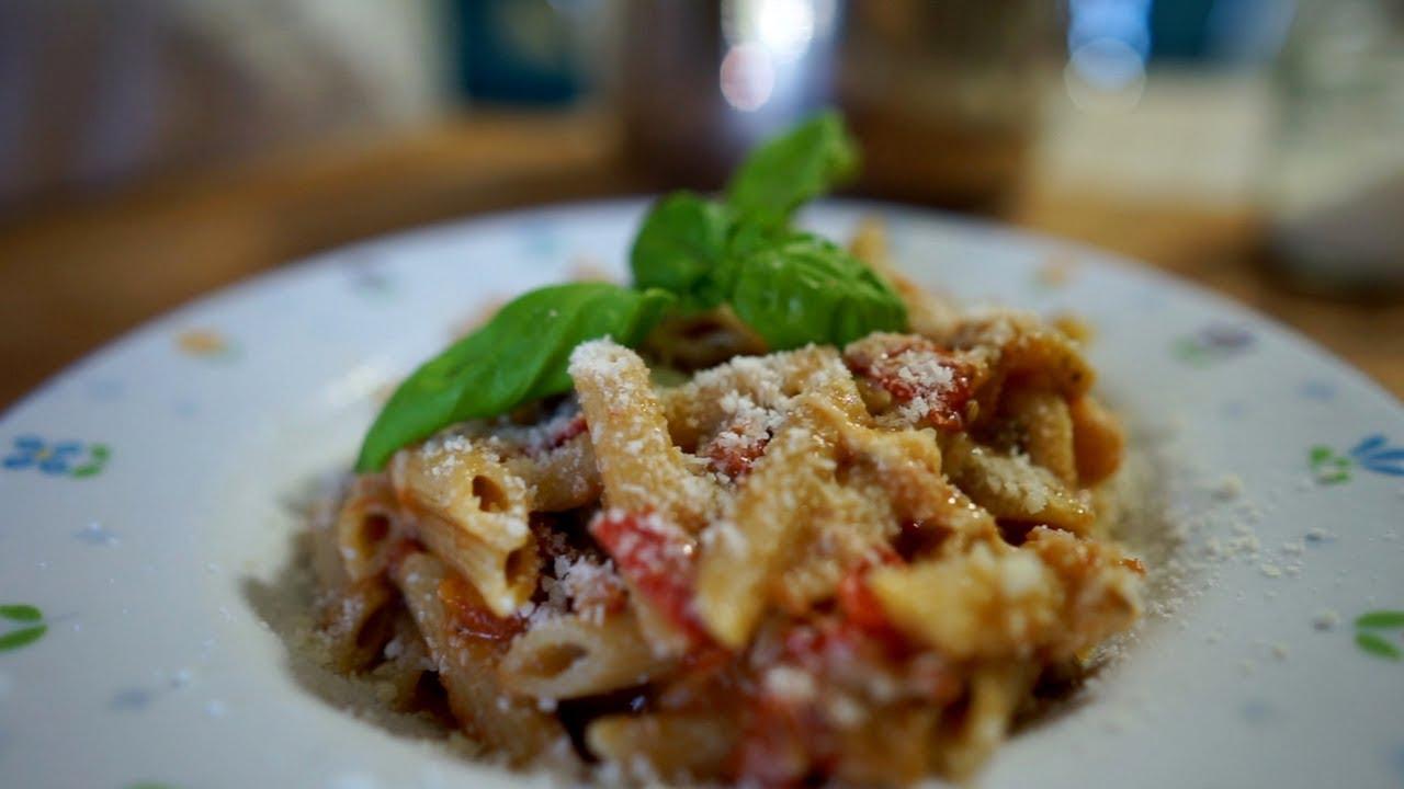 Ricetta Pasta con melanzane | Primo piatto veloce e gustoso