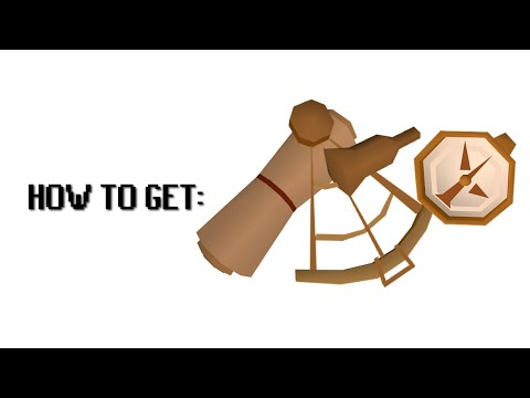 How to get the watch, chart and sextant in Old School RuneScape