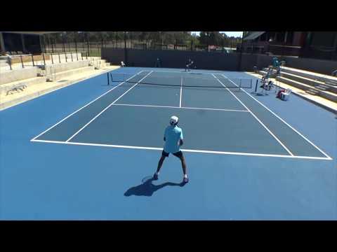Enzo Aguiard Winner ITF J5 Adelaide South Aus Junior International 2019 - Highlights