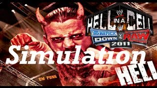 WWE SvR Classic #9 Hell in a Cell 2011 Simulation (SvR11)
