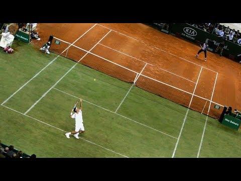 Rafael Nadal vs Roger Federer - Battle of Surfaces 2007 (Highlights) HQ