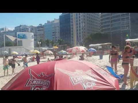 An American's New Life In Brazil: Random Copacabana Beach Video