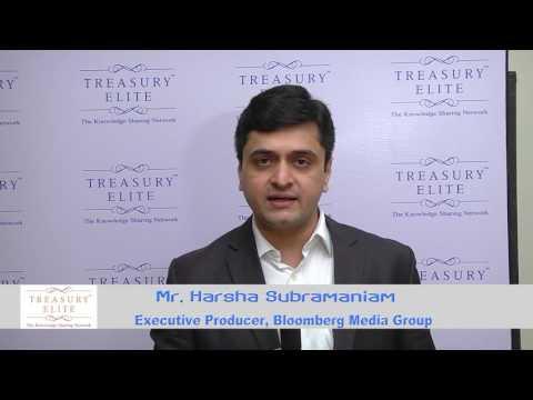Harsha Subramaniam -Treasury Elite Conclave on 5th August 2016
