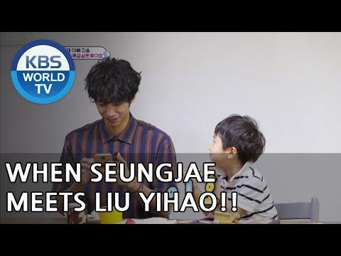 When Seungjae meets Liu Yihao [The Return of Superman
