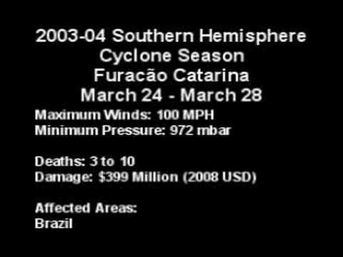 2004 - Cyclone/Furacão Catarina