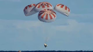 SpaceX Crew Dragon Returns from Space Station on Demo-1 Mission