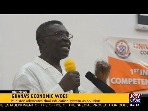 Ghana's Economic Woes - AM News on JoyNews (14-9-17)