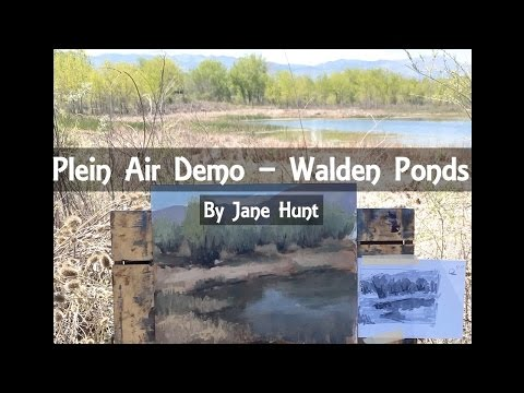 Plein Air Demo with Jane Hunt (trailer)
