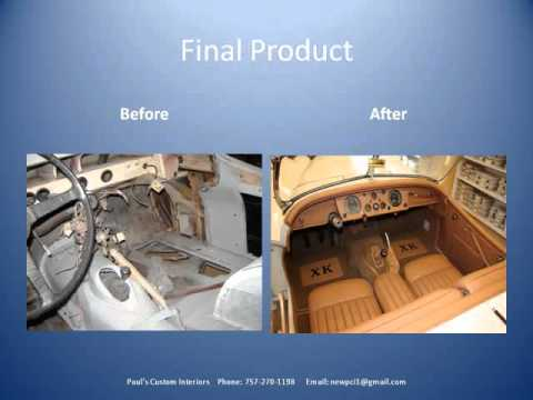 Paul's Custom Interiors/Auto Upholstery