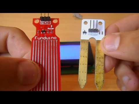 Урок #5. Аналоговые датчики. Подключаем датчик уровня воды,влажности почвы,освещенности.