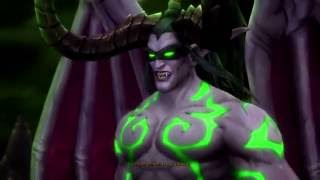 WoW Legion Cinematic | Demon Hunter Cinematics. Сюжет Охотников на демонов. Иллидан и Майев