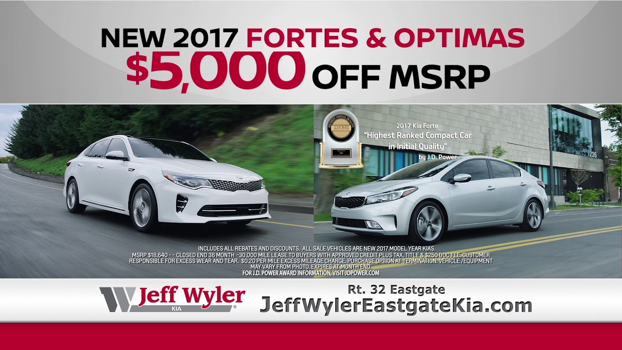 Nowu0027s The Time To Get To Jeff Wyler Eastgate Kia!
