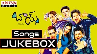 Boys Telugu Movie Songs || Jukebox || Siddharth,Genelia D