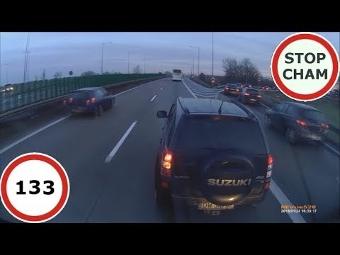 Stop Cham #133 – Niebezpieczne i chamskie sytuacje na drogach
