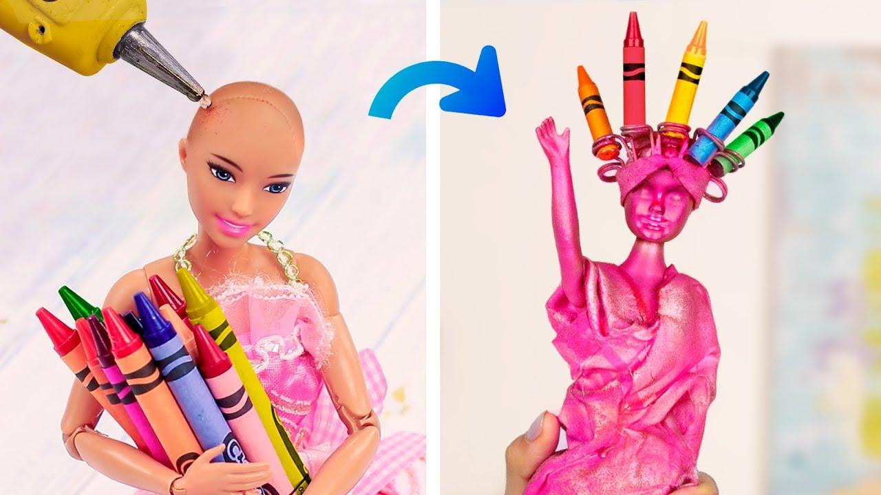 Канцелярия в Барби стиле – 14 идей!