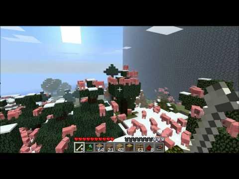 minecraft 2000 pigs