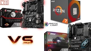 am4 x370 vs b350 motherboard does it worth