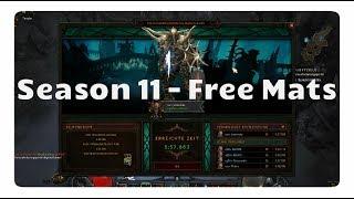 Diablo 3: Trick für Gratis Mats in Season 11 (Patch 2.6)
