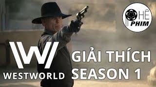 Westworld - GIẢI THÍCH SEASON 1