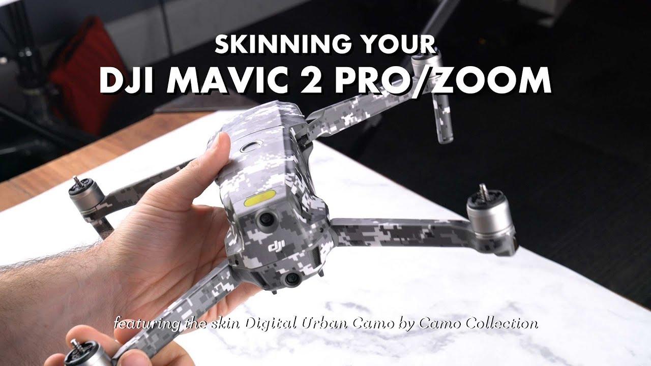 015bfc22f3d DJI Mavic 2 Skin Installation - YouTube
