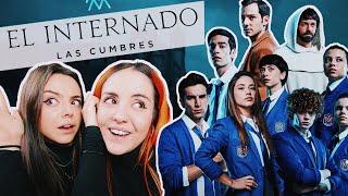 REACCIÓN EL INTERNADO: LAS CUMBRES 1X01 | Andrea Compton ft Berry #ad