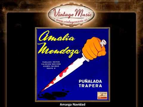 Amalia Mendoza-Amarga Navidad (VintageMusic.es)