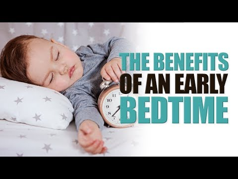 Early Bed time for Preschoolers May Decrease Weight problems Risk Later