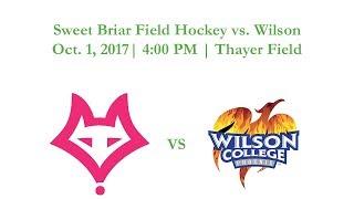 Sweet Briar Field Hockey vs. Wilson