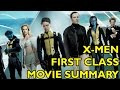 Movie Spoiler Alerts - X-Men First Class (2011) Video Summary