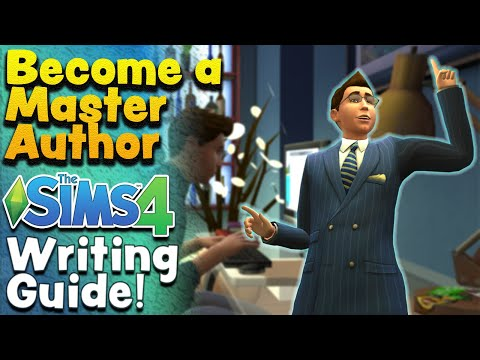 The Sims 4 Writing Skill & The Book of Life