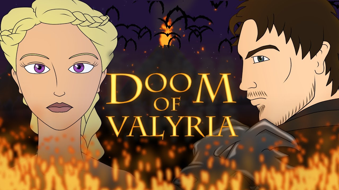 Game Of Thrones Prequel - Doom Of Valyria - Animated Pilot (unofficial)