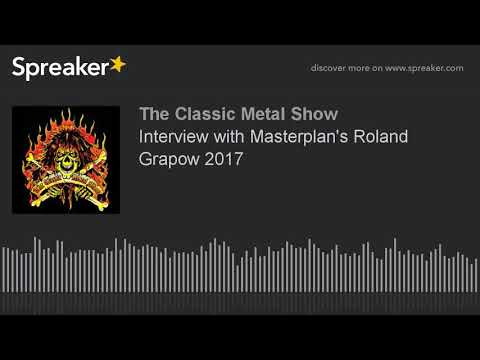 Interview with Masterplan's Roland Grapow 2017