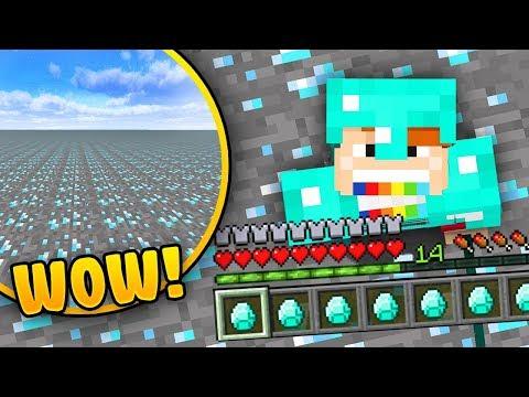 JAK PRZEY W WIECIE Z DIAMENTW? - Minecraft Challenge