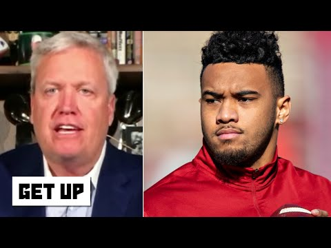 The Miami Dolphins drafting Tua Tagovailoa makes sense! - Rex Ryan | Get Up