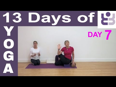 Day 7 - 13 Days Of Yoga. Iyengar Yoga For Beginners