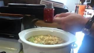 Slow Cooker Beef Barley Lentil Soup