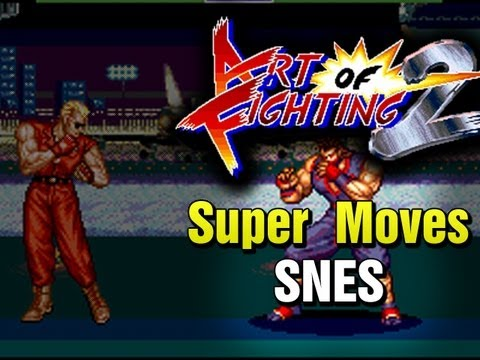 Art Of Fighting 2 Snes Super Moves Youtube