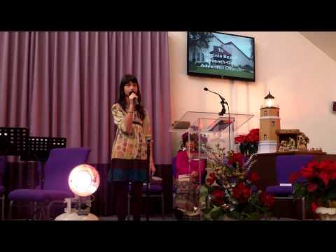 Sabbath School, 12/15/2012: Superintendent - Naomi Decano