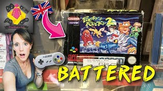 EXPENSIVE SNES GAMES | Retro Game Hunting in Nottingham | TheGebs24