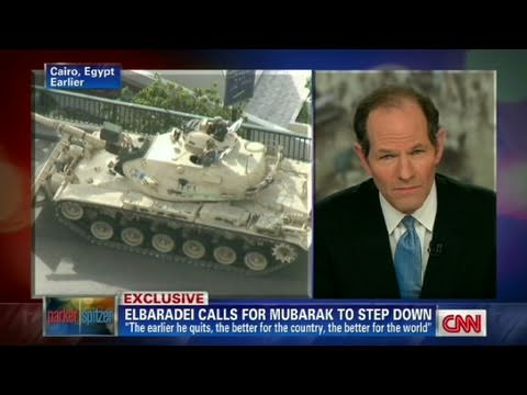 CNN Official Interview: Mohamed  ElBaradei 'There is no way back'