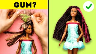 27 BARBIE CRAFTS TO MAKE YOUR DOLL LIFE SWEETER