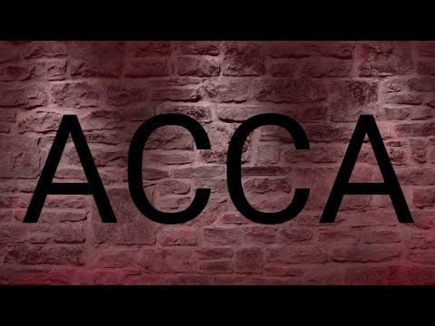 محاضرة تعريفية عن شهادة ACCA