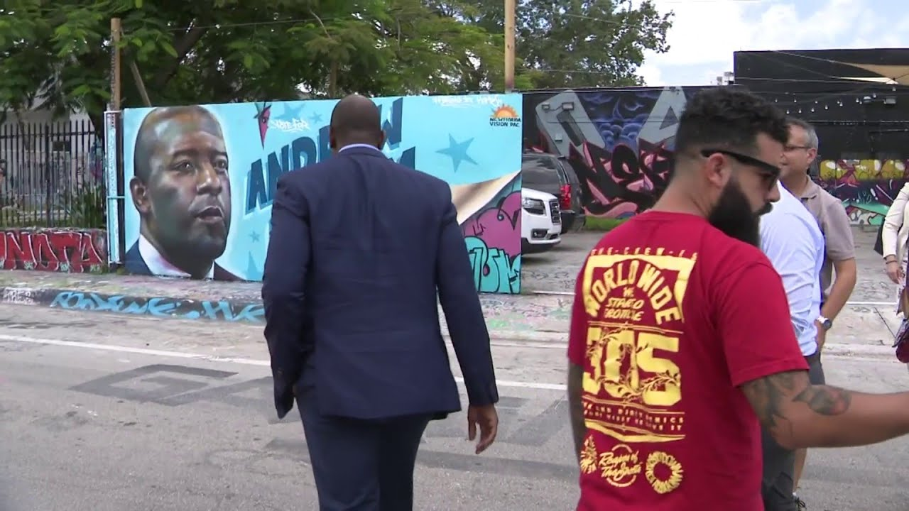 Wynwood mural pays tribute to Andrew Gillum