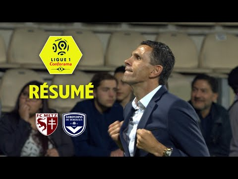 FC Metz - Girondins de Bordeaux ( 0-4 ) - Résumé - (FCM - GdB) / 2017-18