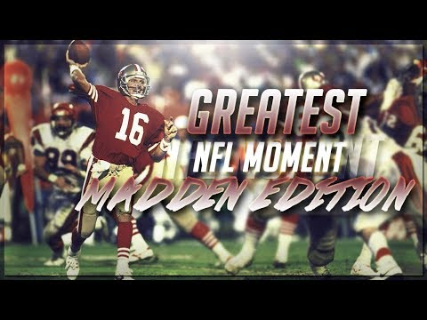 THE 49ERS GREATEST DEFENSIVE STAND IN SUPER BOWL 16 RELIVED | MADDEN 17 NFL MOMENTS